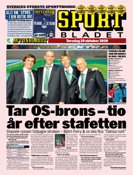 Sportbladet October 29, 2020 00:00