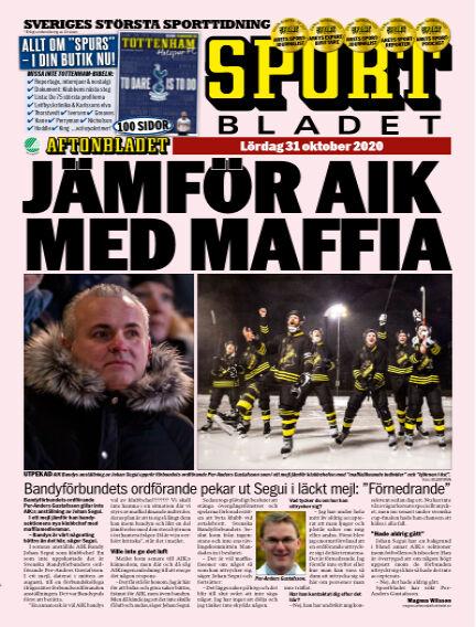 Sportbladet October 31, 2020 00:00