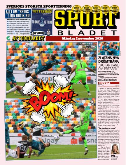 Sportbladet November 02, 2020 00:00