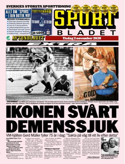 Sportbladet November 03, 2020 00:00