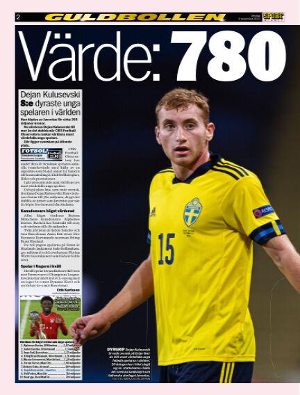 Sportbladet November 04, 2020 00:00