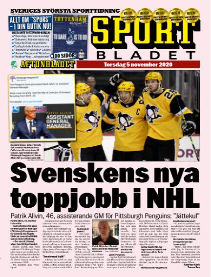 Sportbladet November 05, 2020 00:00