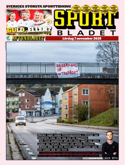 Sportbladet November 07, 2020 00:00
