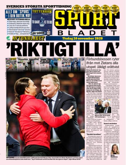Sportbladet November 10, 2020 00:00