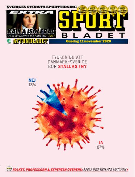 Sportbladet November 11, 2020 00:00