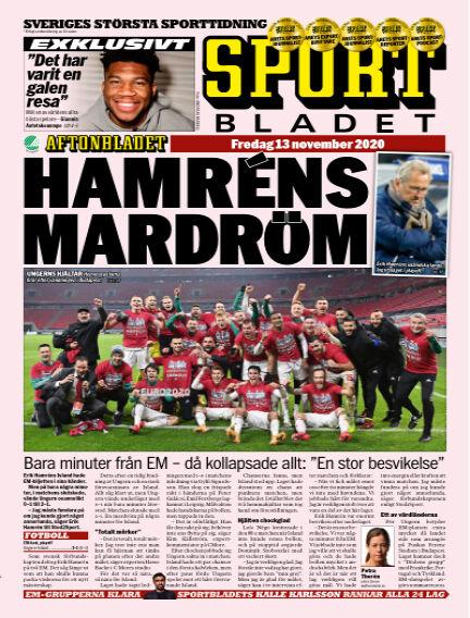 Sportbladet November 13, 2020 00:00