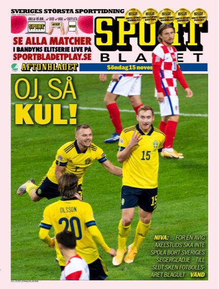 Sportbladet November 15, 2020 00:00