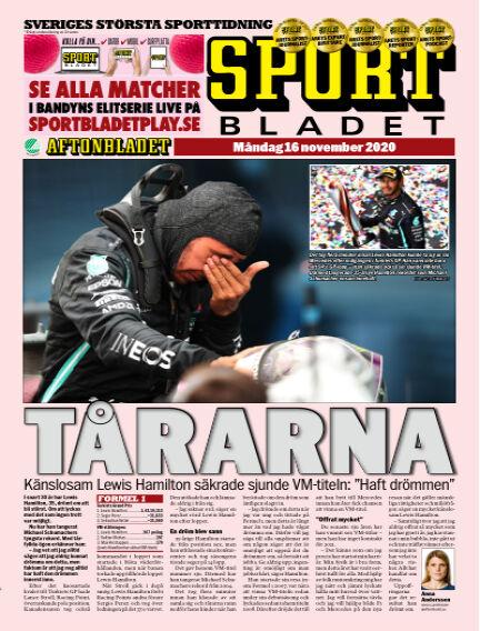 Sportbladet November 16, 2020 00:00
