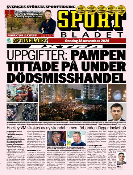 Sportbladet November 18, 2020 00:00