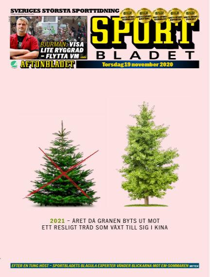 Sportbladet November 19, 2020 00:00