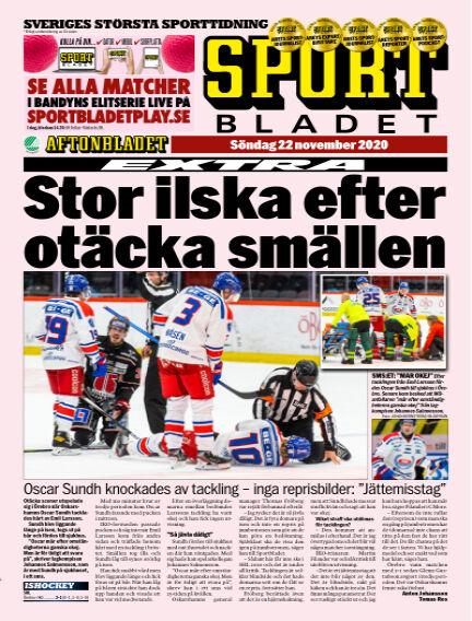 Sportbladet November 22, 2020 00:00