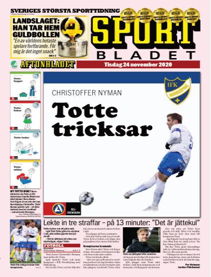 Sportbladet November 24, 2020 00:00