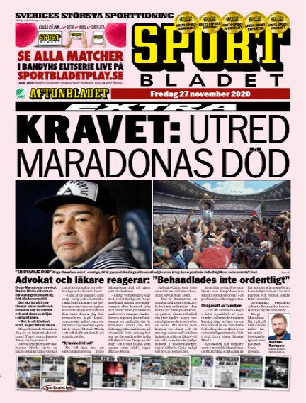 Sportbladet November 27, 2020 00:00