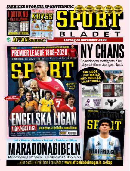 Sportbladet November 28, 2020 00:00