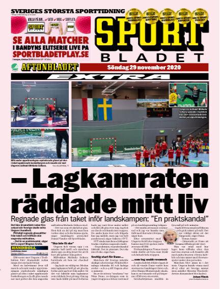 Sportbladet November 29, 2020 00:00