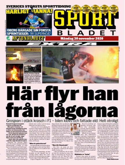 Sportbladet November 30, 2020 00:00