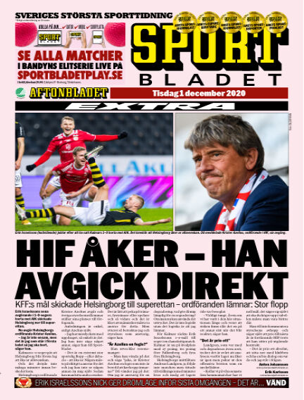 Sportbladet December 01, 2020 00:00