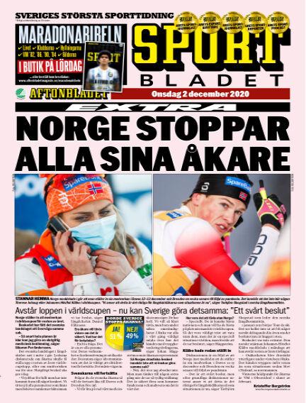 Sportbladet December 02, 2020 00:00