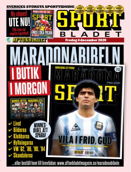 Sportbladet December 04, 2020 00:00