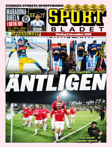 Sportbladet December 06, 2020 00:00