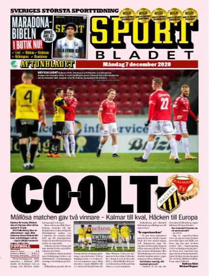 Sportbladet December 07, 2020 00:00