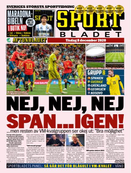 Sportbladet December 08, 2020 00:00