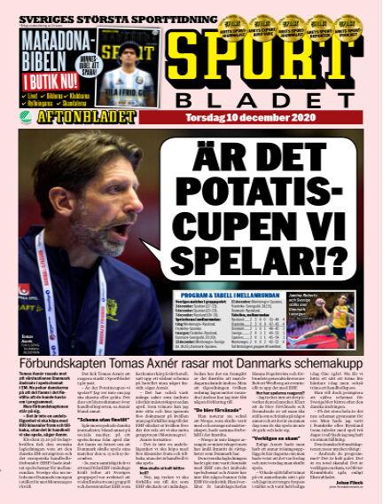 Sportbladet December 10, 2020 00:00