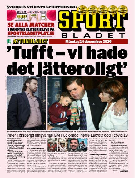 Sportbladet December 14, 2020 00:00
