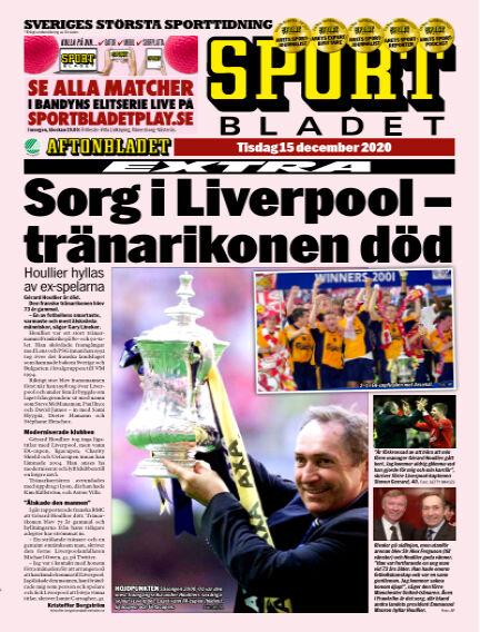 Sportbladet December 15, 2020 00:00