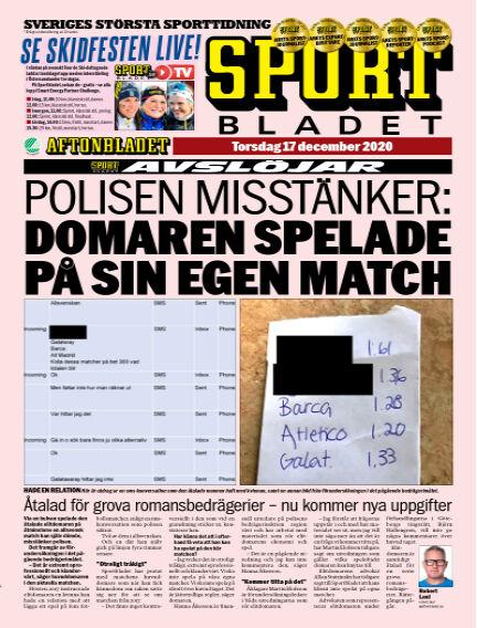 Sportbladet December 17, 2020 00:00