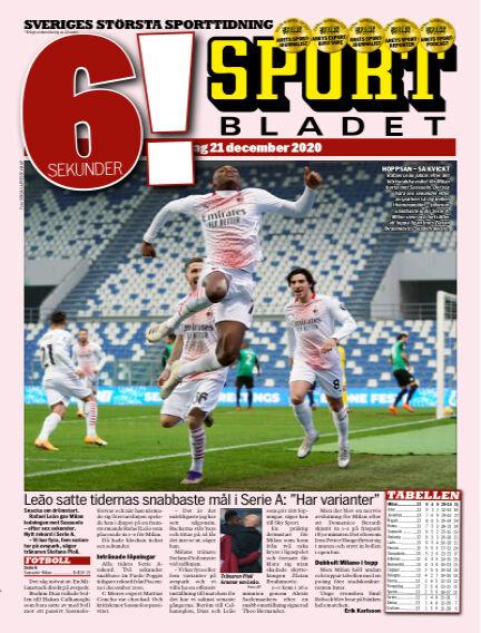 Sportbladet December 21, 2020 00:00