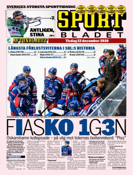 Sportbladet December 22, 2020 00:00