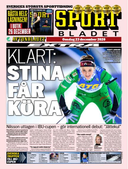 Sportbladet December 23, 2020 00:00