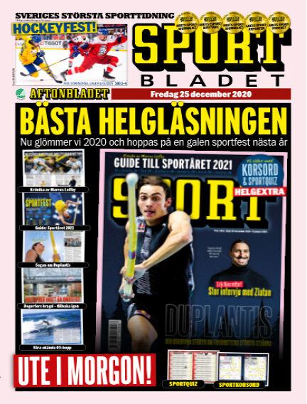 Sportbladet December 25, 2020 00:00