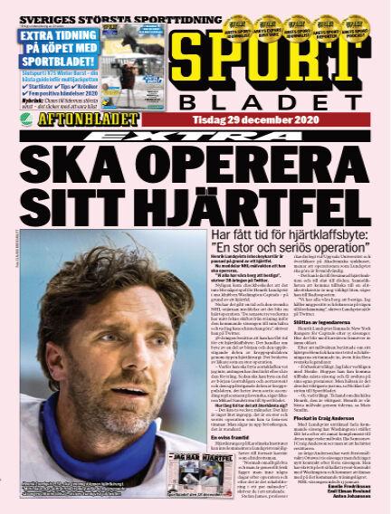Sportbladet December 29, 2020 00:00
