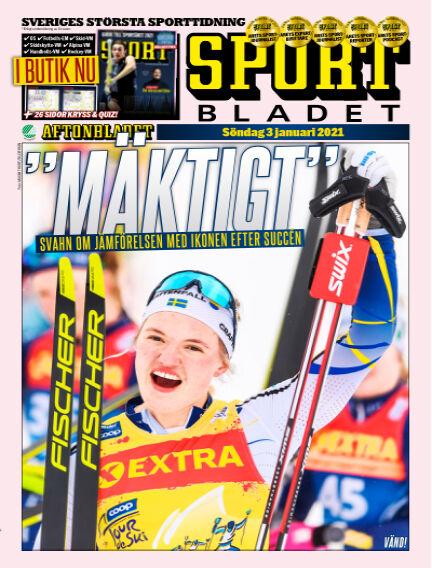 Sportbladet January 03, 2021 00:00