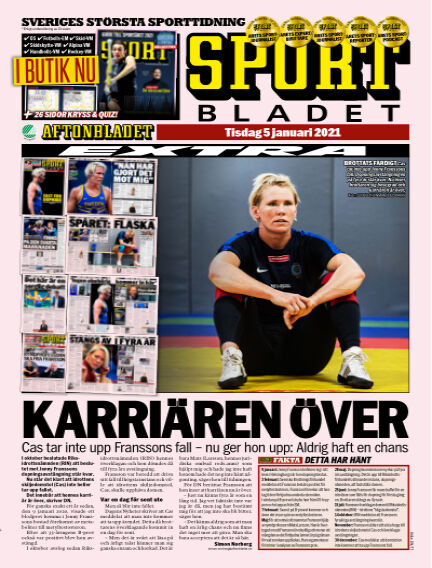 Sportbladet January 05, 2021 00:00