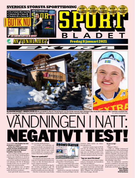 Sportbladet January 08, 2021 00:00