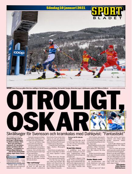 Sportbladet January 10, 2021 00:00