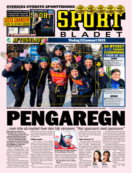 Sportbladet January 12, 2021 00:00