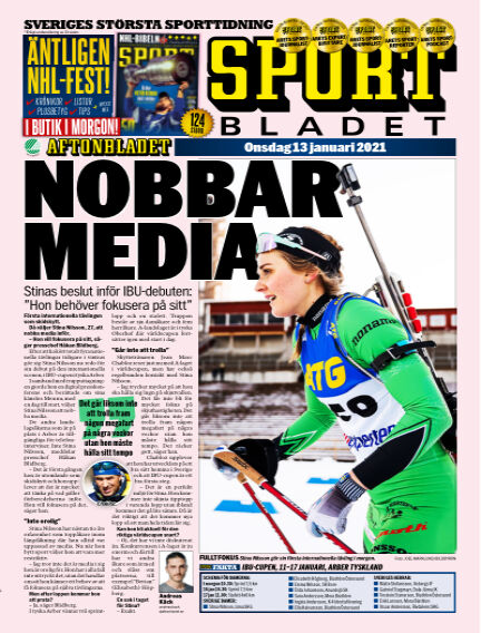 Sportbladet January 13, 2021 00:00