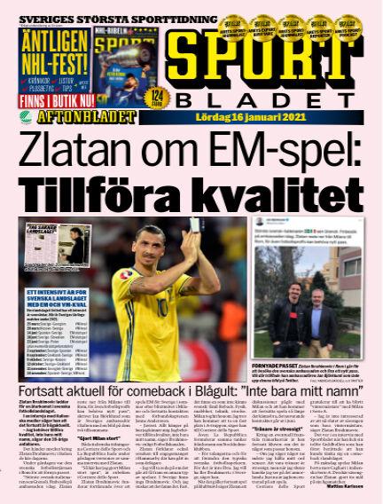 Sportbladet January 16, 2021 00:00
