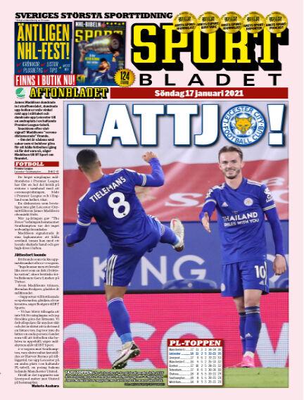Sportbladet January 17, 2021 00:00