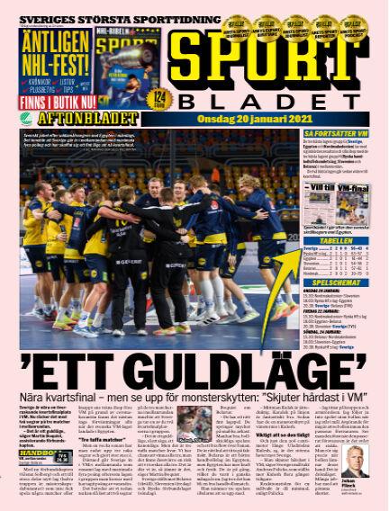 Sportbladet January 20, 2021 00:00