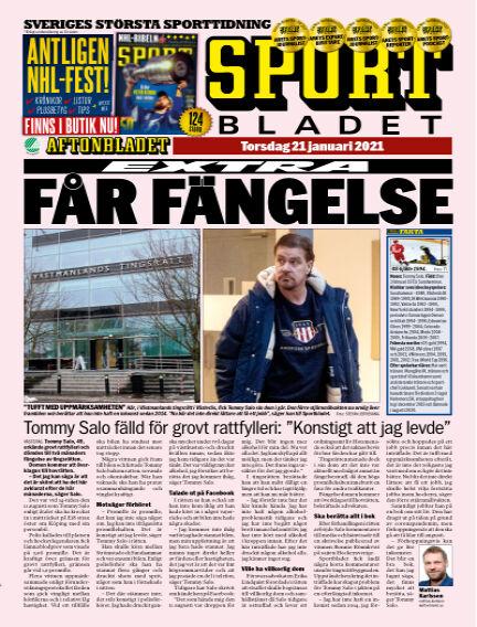 Sportbladet January 21, 2021 00:00
