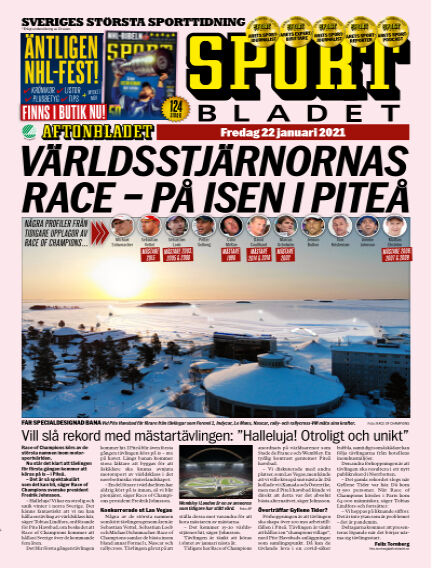 Sportbladet January 22, 2021 00:00