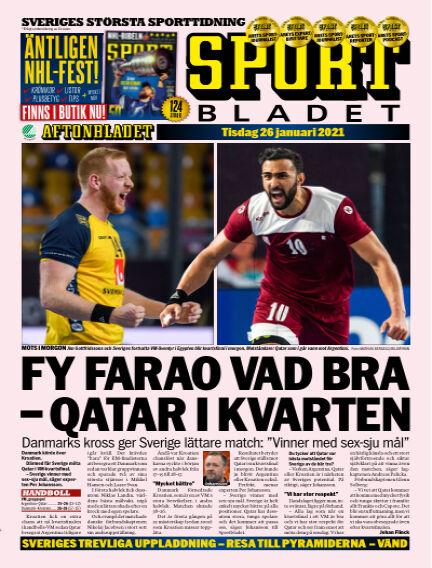 Sportbladet January 26, 2021 00:00