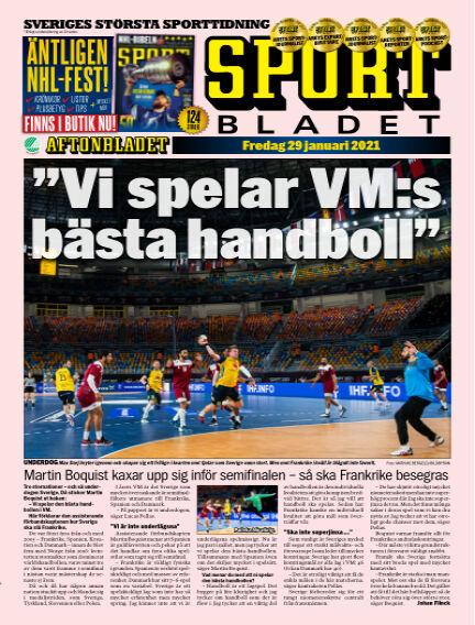 Sportbladet January 29, 2021 00:00