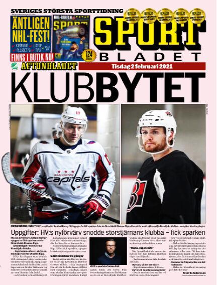 Sportbladet February 02, 2021 00:00