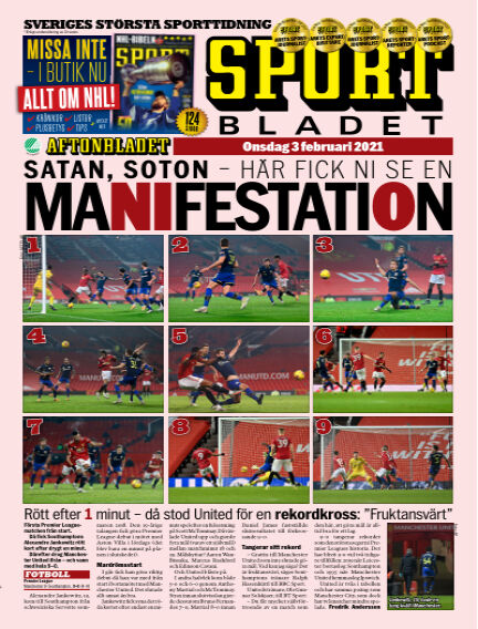 Sportbladet February 03, 2021 00:00